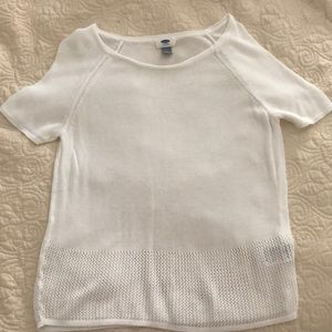 White Summer Sweater, Old Navy